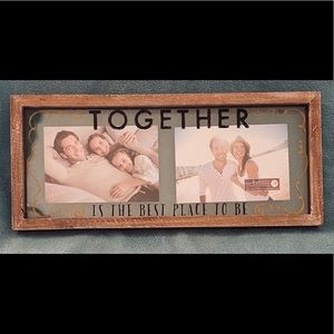 COPY - PICTURE FRAME-TOGETHER IS THE BEST PALCE T…